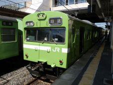 JR西日本 103系(奈良線)